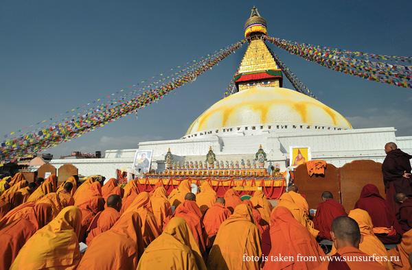 Буддистская Ступа, Катманду, Непал