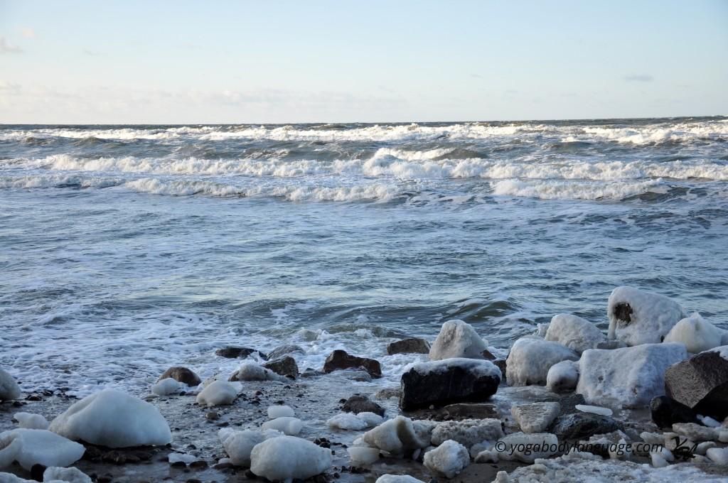 зимнее море, Калининград